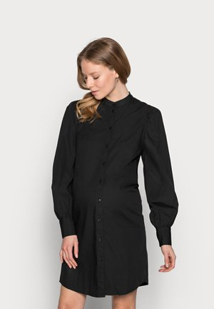PCMFONNIEN - Shirt dress - black