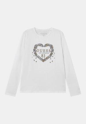 JUNIOR  - Pitkähihainen paita - pure white