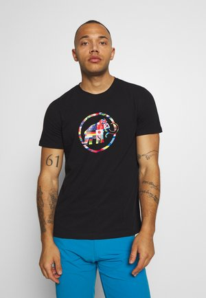 NATIONS MEN - Print T-shirt - black