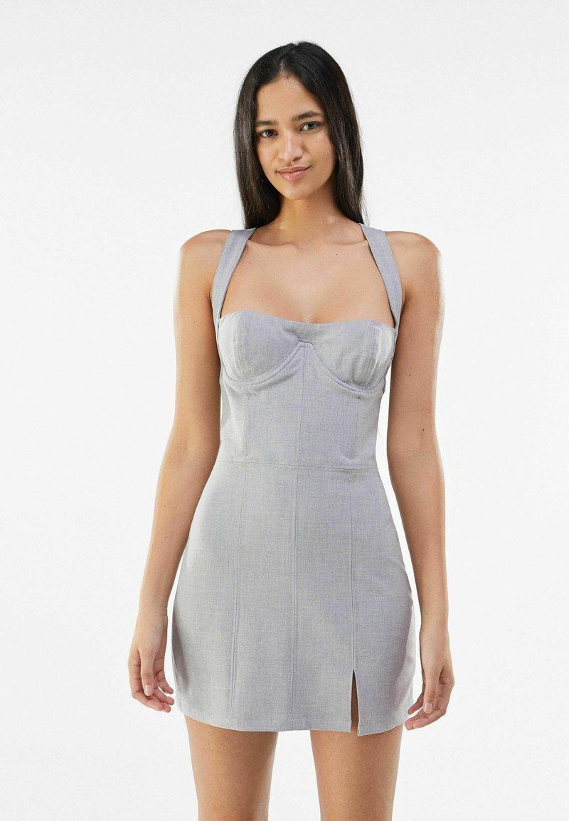 Bershka - Cocktail dress / Party dress - light grey