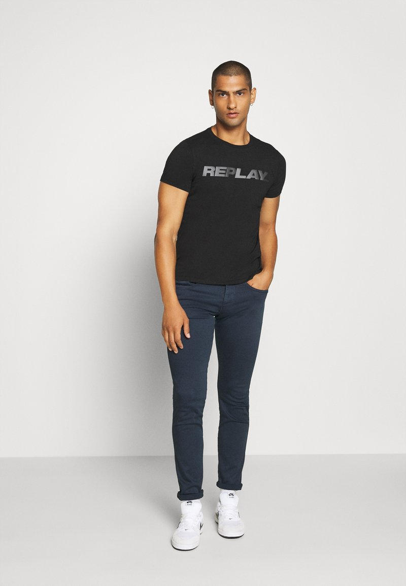 Replay ANBASS - Jeans Slim Fit - deep blue/dunkelblau 9kpyAq