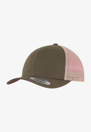TRUCKER  - Cap - mossgreen/khaki