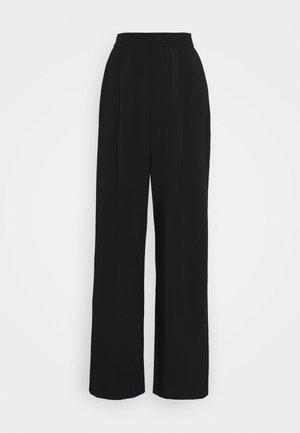 PINJA - Pantalones - anthracite/black