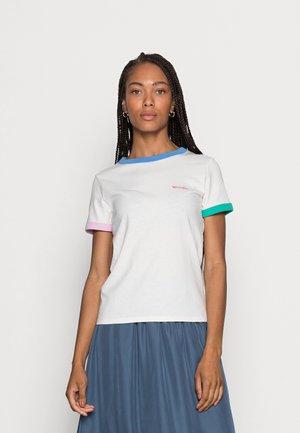 RINGER TEE - Jednoduché triko - marina blue