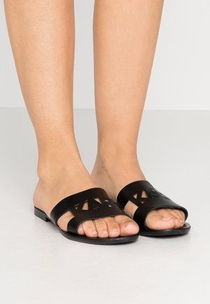 SKOOT KUT OUT - Mules - black