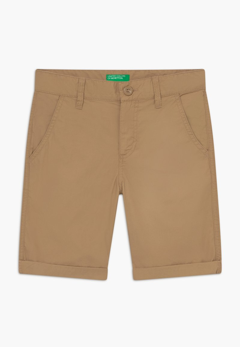 Benetton - BERMUDA - Kraťasy - beige