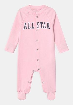 RETRO SPORT FOOTED UNISEX - Sleep suit - arctic pink