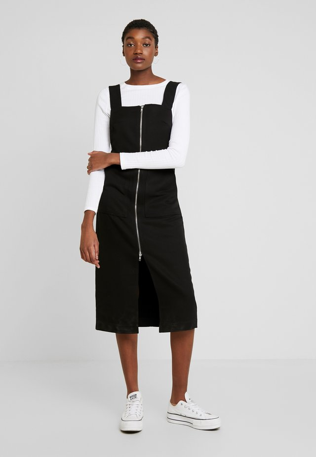 ARIA DRESS - Vapaa-ajan mekko - black