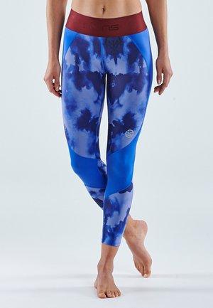 Leggings - blue camo