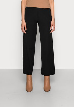 DUNA PANTS - Spodnie materiałowe - black