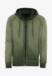 camel active - Zip-up sweatshirt - leaf green - 5