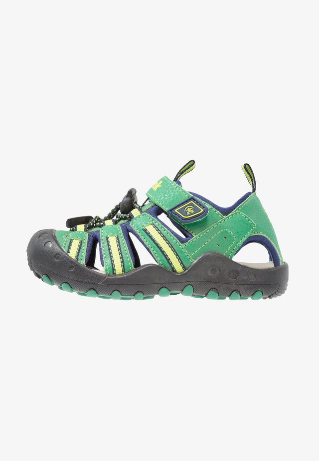 CRAB - Walking sandals - green