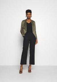 ONLY - ONLFLEUR JACKET - Faux leather jacket - kalamata - 1