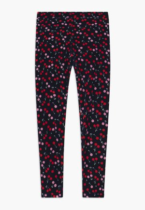 CHERRY - Leggings - navy red pink