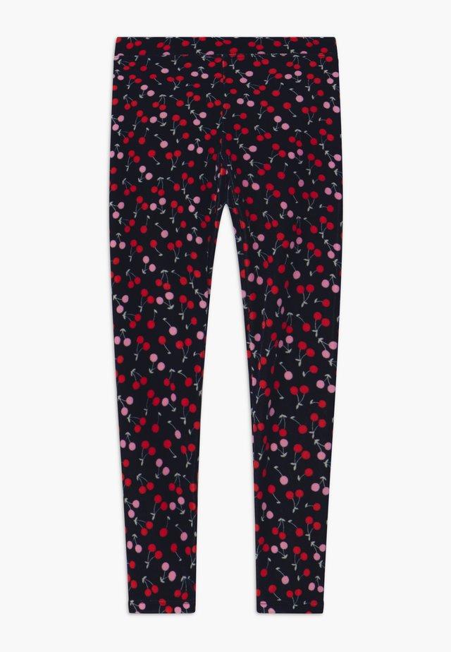 CHERRY - Leggingsit - navy red pink
