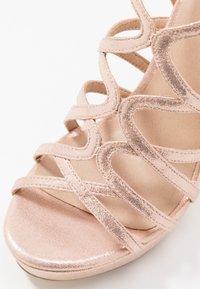 Menbur - High heeled sandals - even rose - 2