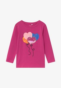 Name it - NMFOGIMMI - Langærmede T-shirts - very berry - 0