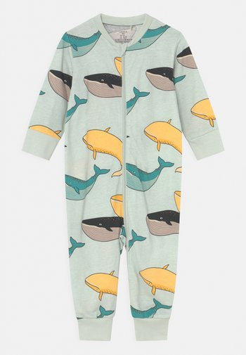 WHALE UNISEX - Pyjamas - light aqua