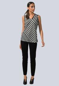Alba Moda - Blouse - weiß,schwarz - 1