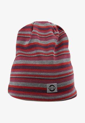 HAT  STRIPES - Mütze - pompeian red