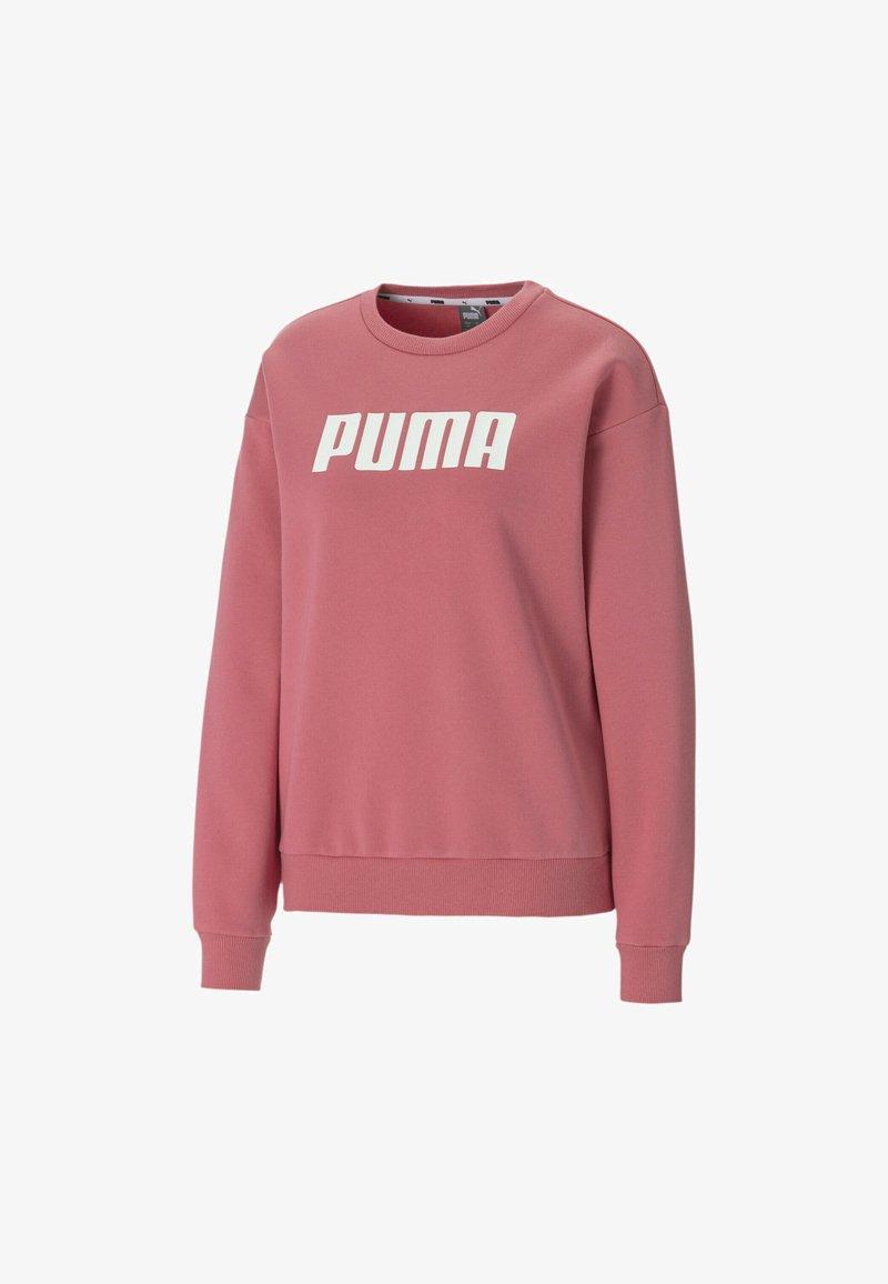 Puma - ESSENTIALS CREW NECK  - Felpa - rapture rose