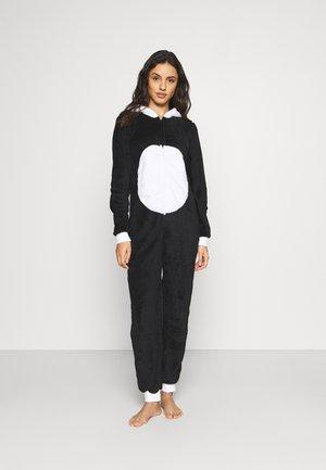 PANDA ALL IN ONE - Pyjamas - black/white