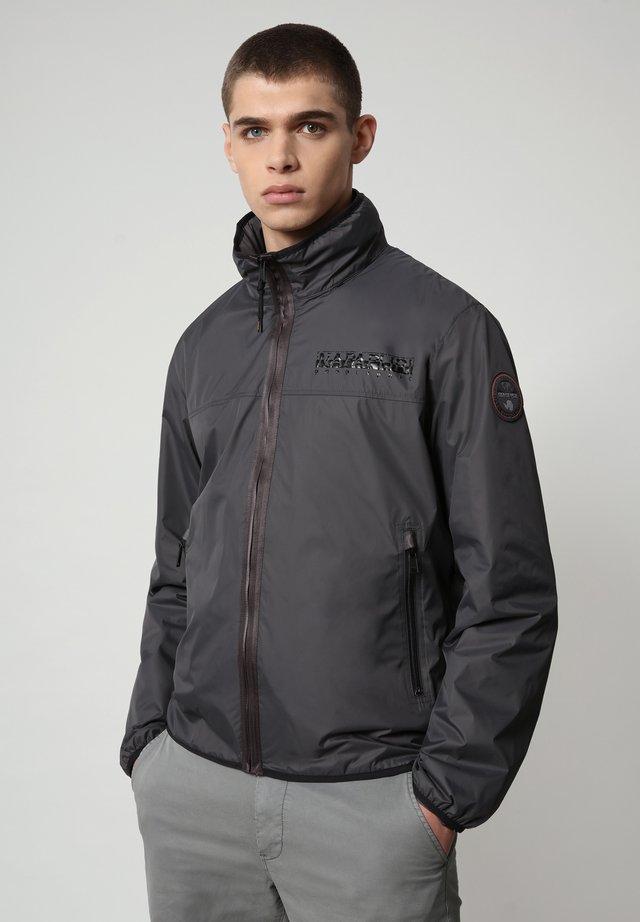 ARINO - Jas - dark grey solid