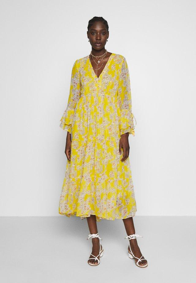 CAMPANILE - Korte jurk - yellow