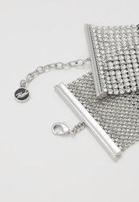 KARL LAGERFELD - CRYSTAL MESH DOUBLE  - Bracelet - silver-colored - 2