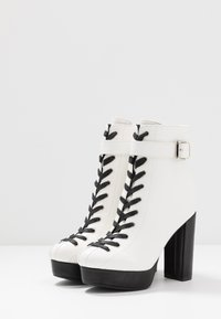 co wren - High heeled ankle boots - white - 4