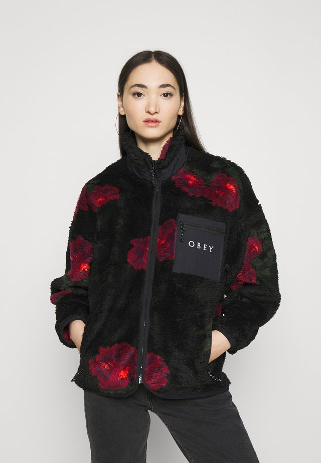 MESA SHERPA JACKET - Zimní bunda - black multi