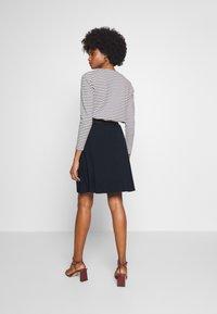 Kaffe - KAWILLE SKIRT - A-line skirt - midnight marine - 2