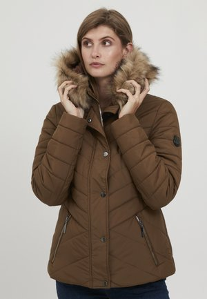 Winter jacket - gold brown