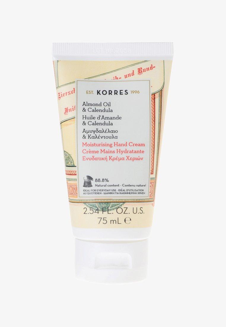 Korres - ALMOND OIL & CALENDULA HAND CREAM - Hand cream - -
