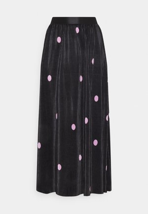 ONLLENA SKIRT - Pleated skirt - black