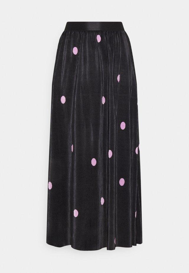 ONLLENA SKIRT - Jupe plissée - black