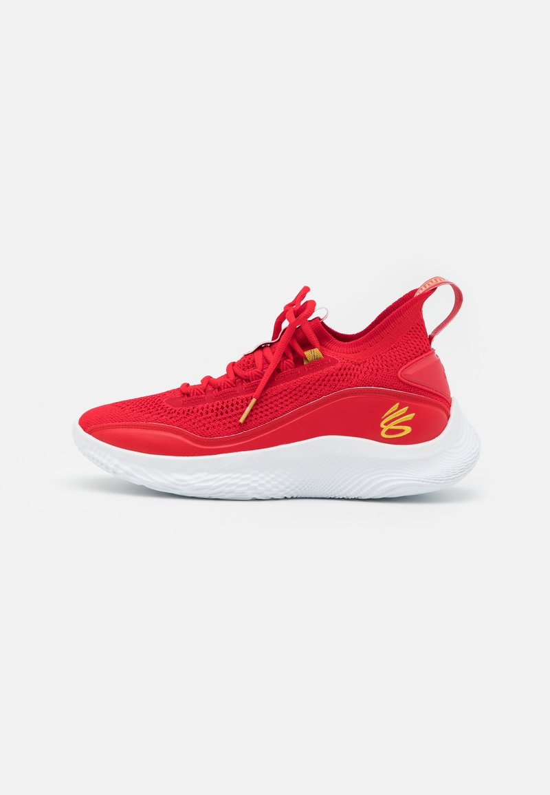 Under Armour - CURRY 8 - Basketball shoes - red