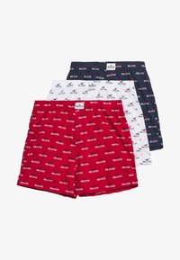 Hollister Co. - PATTERN 3 PACK - Boxershort - red/white/navy - 5