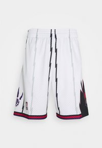 Mitchell & Ness - NBA TORONTO RAPTORS SWINGMAN SHORTS - Sports shorts - white - 0