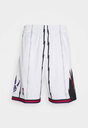NBA TORONTO RAPTORS SWINGMAN SHORTS - Sports shorts - white