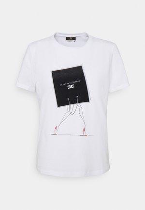 T-shirt z nadrukiem - gesso