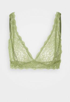 LONNIE BRA - Trojúhelníková podprsenka - khaki/green medium dusty unique