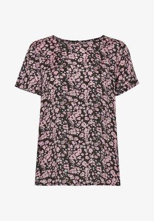 KAGARDANA  - Print T-shirt - candy pink / grape leaf flower