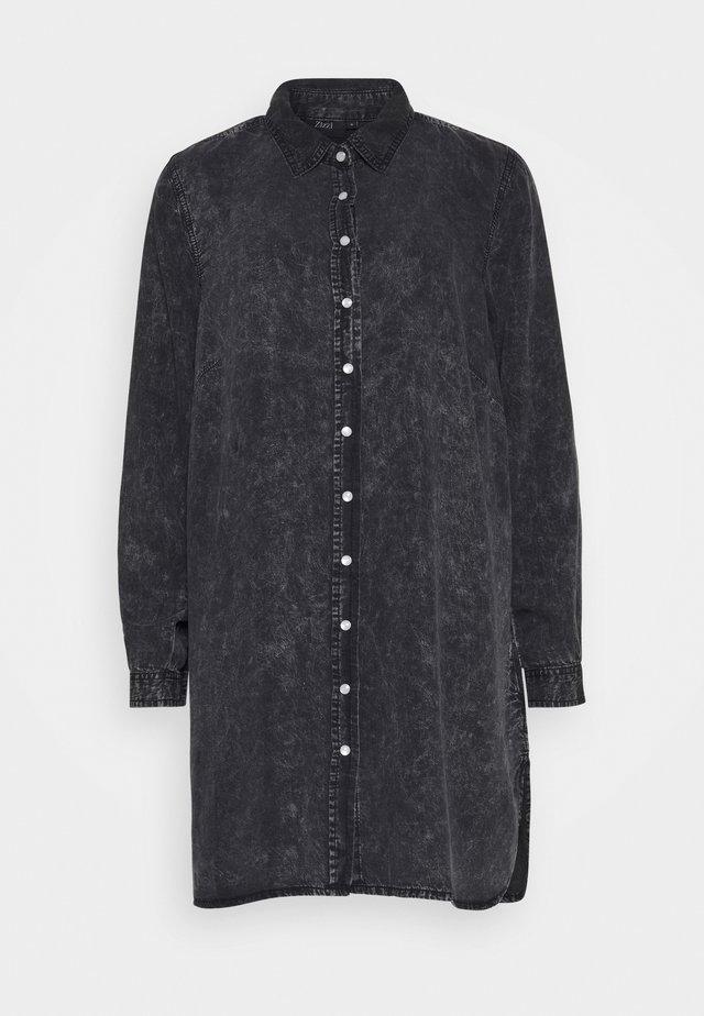 JSAINT - Shirt dress - grey stone wash