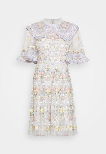 REVERIE ROSE MINI DRESS - Cocktail dress / Party dress - blue mist