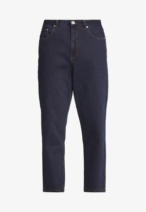 HAWTIN CROP - Relaxed fit jeans - rinse denim