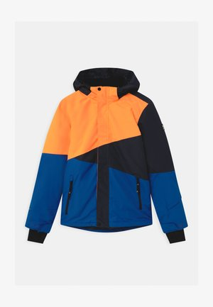 IDAHO BOYS - Kurtka snowboardowa - fluo orange