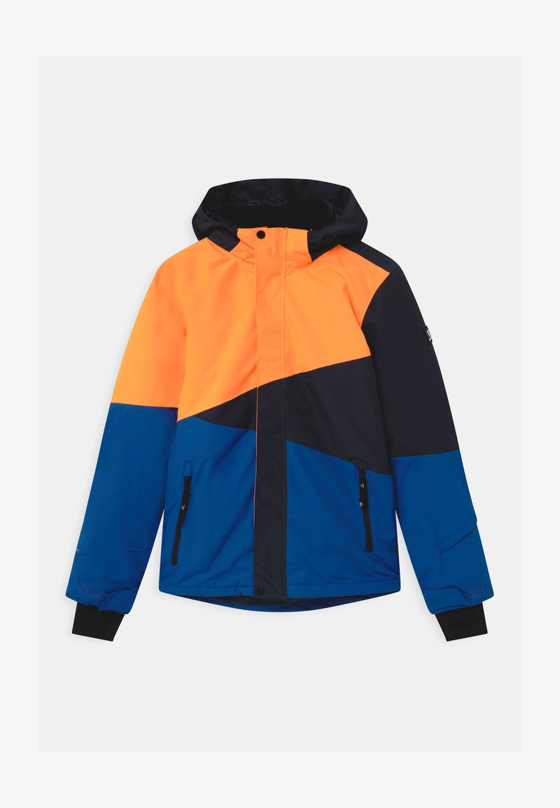 Brunotti - IDAHO BOYS - Snowboardová bunda - fluo orange