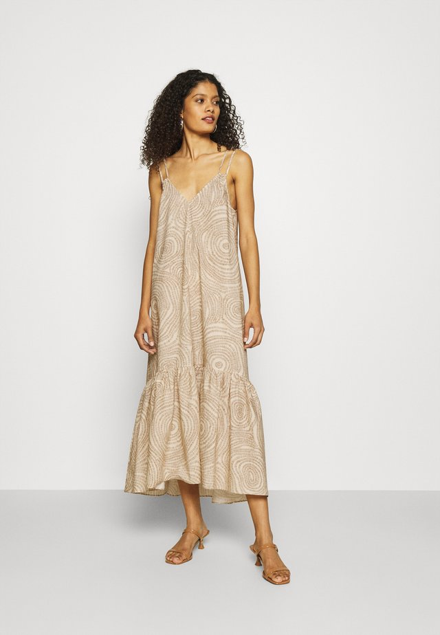 AMELA - Denní šaty - beige