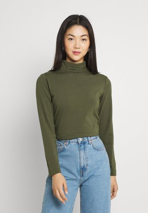 FIONA ROLL NECK - Long sleeved top - grape leaf